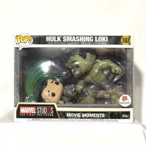 Offers! ✨ Hulk Smashing Loki Funko Pop - Mint